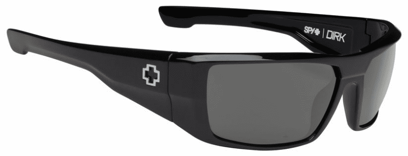 Spy Dirk Sunglasses<br>Black/HD Plus Grey Green