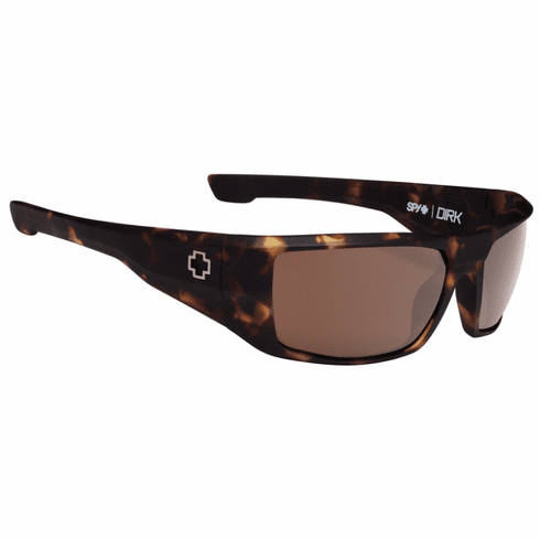 Spy Dirk Sunglasses<br>Matte Camo Tortoise/Happy Bronze