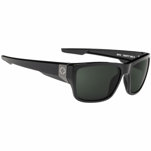 Spy Dirty Mo 2 Sunglasses<br>Black/HD Plus Gray Green