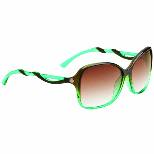 Spy Fiona Sunglasses<BR>Mint Chip Fade/HD Plus Bronze Fade