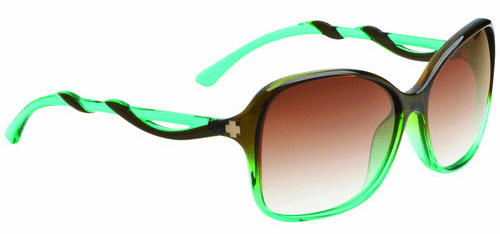 Spy Fiona Sunglasses<BR>Mint Chip Fade/Bronze Fade