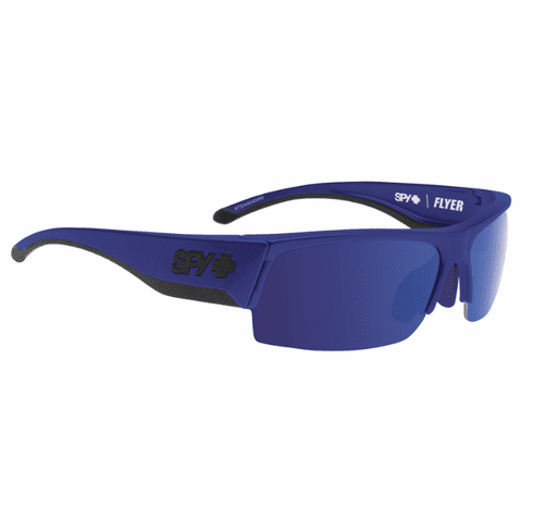 Spy Flyer Sunglasses<br>Royal Blue/Happy Bronze w/Dark Blue Spectra<br>+ Happy Rose + Clear Bonus Lenses