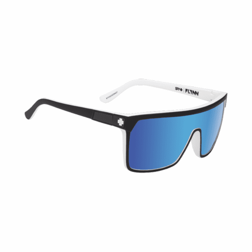 Spy Flynn Sunglasses<br>Whitewall/Happy Gray Green/Light Blue Spectra