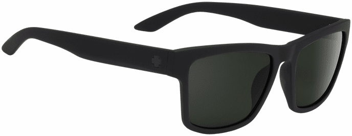 Spy Haight 2 Sunglasses<br>Soft Matte Black/Happy Gray Green Polar