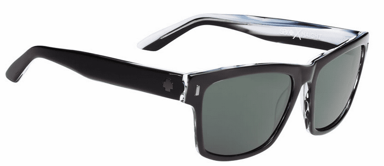Spy Haight Sunglasses<br>Crosstown Collection<br>Black/Horn/Happy Grey Green