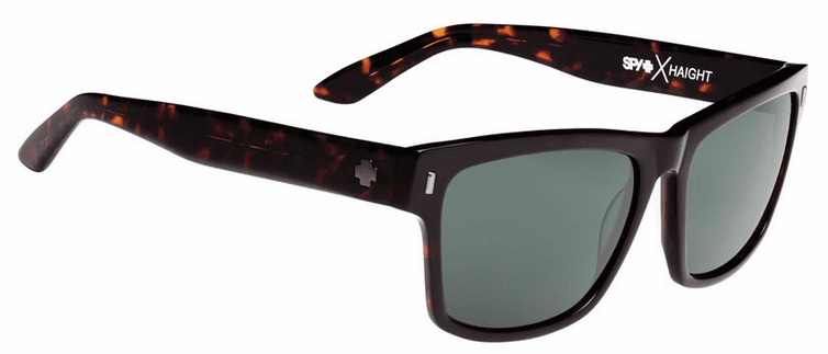 Spy Haight Sunglasses<br>Crosstown Collection<br>Dark Tort/Happy Grey Green