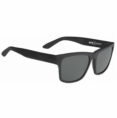(Sale!!!) Spy Haight Sunglasses<br>Crosstown Collection<br>Matte Black/Happy Grey Green