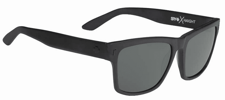 Spy Haight Sunglasses<br>Crosstown Collection<br>Matte Black/Happy Grey Green