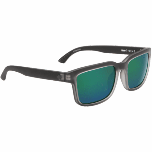 Spy Helm 2 Sunglasses<br>Matte Black Ice/Happy Bronze w/Emerald Spectra