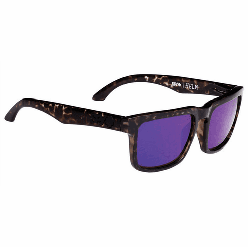 Spy Helm Sunglasses<br>Smoke Tort/Happy Bronze w/Purple Spectra