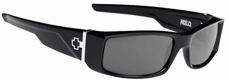 Spy Hielo Sunglasses<br>Black/Happy Grey Green