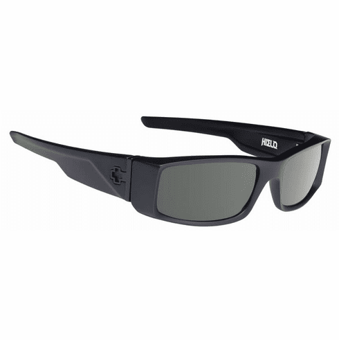 Spy Hielo Sunglasses<br>Soft Matte Black/HD Plus Grey Green Polar