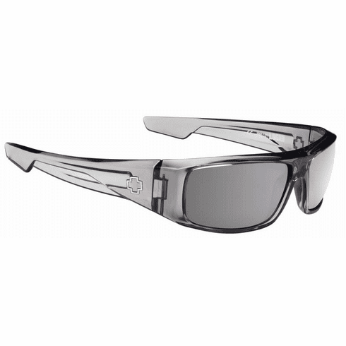 Spy Logan Sunglasses<br>Clear Smoke/Happy Grey Green w/Silver Mirror