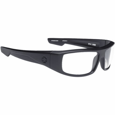 Spy Logan Sunglasses<br>Matte Black Ansi Rx/HD Clear