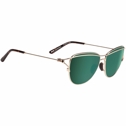Spy Marina Sunglasses<br>Gold/Happy Bronze w/Emerald Spectra