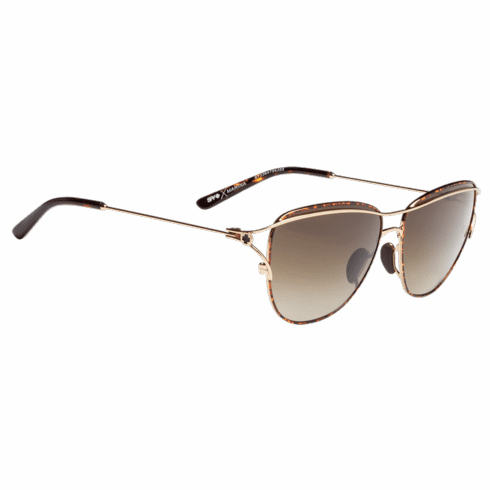 (Sale!!!) Spy Marina Sunglasses<br>Gold Tortoise/Happy Bronze Fade
