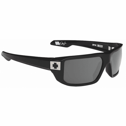 (SALE!!!) Spy Mccoy Sunglasses<br>Black/Happy Grey Green