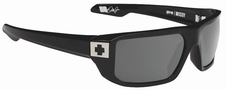 Spy Mccoy Sunglasses<br>Black/Happy Grey Green