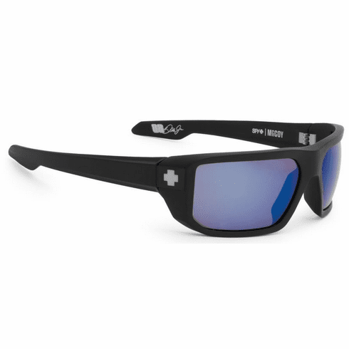 Spy McCoy Sunglasses<br>Matte Black/Happy Bronze Polarized w/Blue Spectra