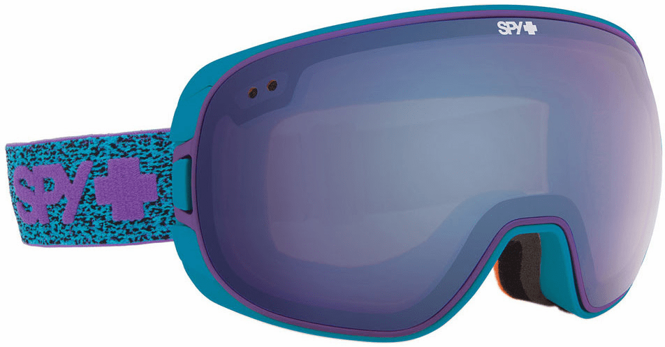 Spy Optic Bravo Snow Goggles<br>Neon Winter/Bronze w Light Blue Spectra<br>+Persimmon Contact