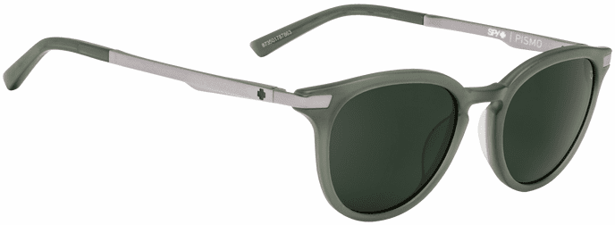 Spy Pismo Sunglasses<br>Matte Translucent Seaweed/Happy Gray Green
