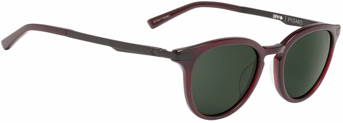 Spy Pismo Sunglasses<br>Translucent Garnet/Happy Gray Green