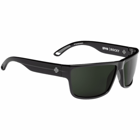 Spy Rocky Sunglasses<br>Black/HD Plus Gray Green