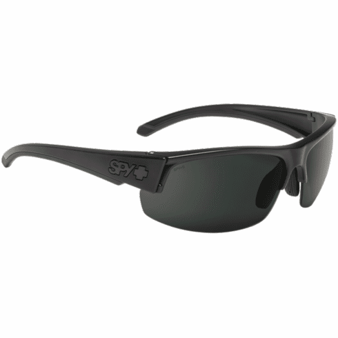 Spy Sprinter Sunglasses<br>Matte Black ANSI Rx/Happy Gray Green