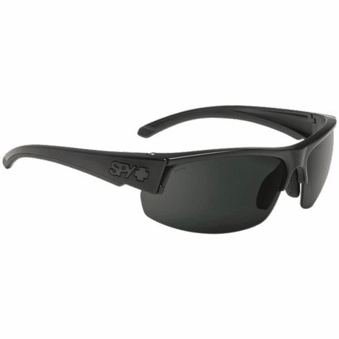 (SALE!!!) Spy Sprinter Sunglasses<br>Matte Black ANSI Rx/HD Plus Gray Green Polar