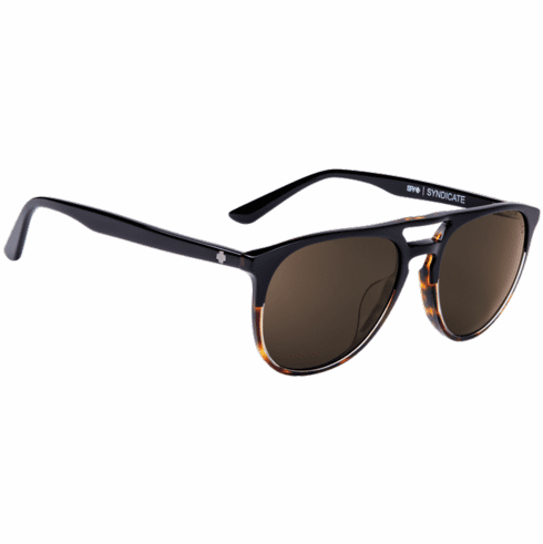 Spy Syndicate Sunglasses<br>Black-Tort/Happy Bronze Polar