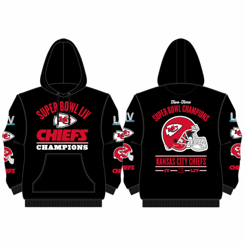 Super Bowl LIV Champions<br>Pullover Hoodie