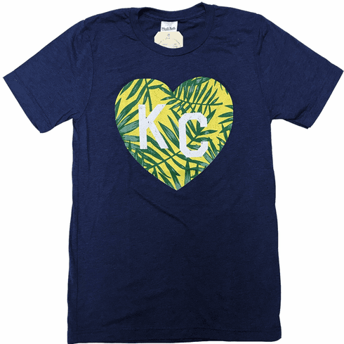 Unisex Bunker x Charlie Hustle Collab<br> Tropical Palms KC Tee