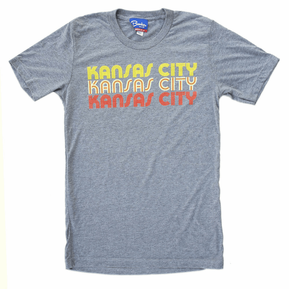 Unisex Kansas City Fever Tee<br>Grey