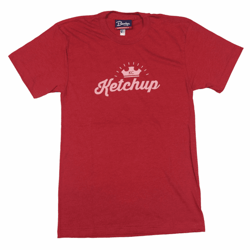 Unisex KC Hot Dog Ketchup Derby Tee