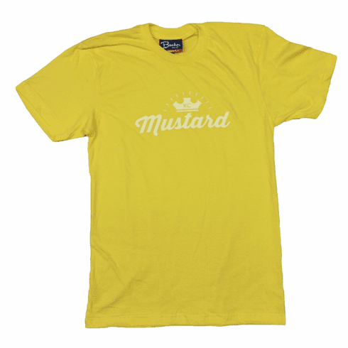 Unisex KC Hot Dog Mustard Derby Tee