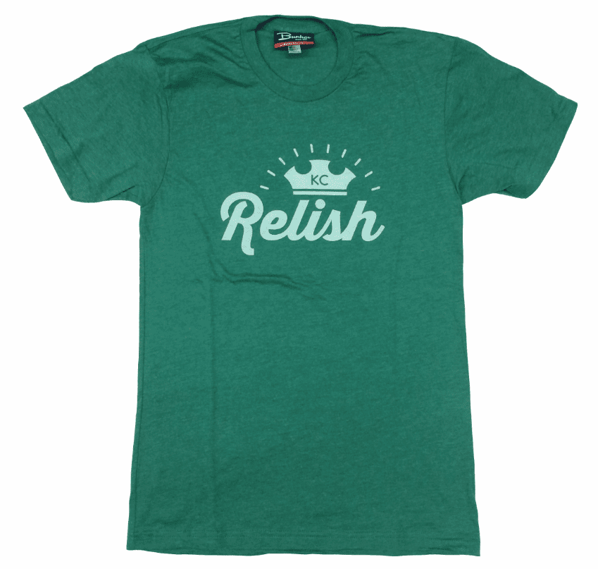 Unisex KC Hot Dog Relish Derby Tee