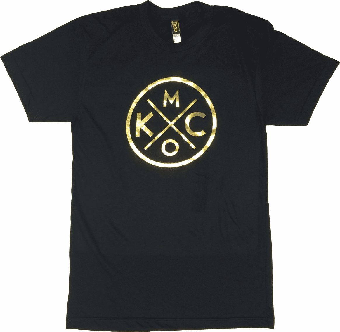 Unisex KCMO Gold Foil Tee