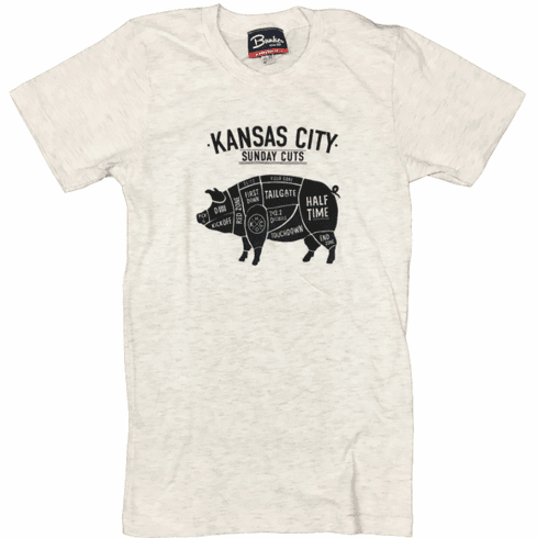 Unisex Sunday Cuts Tee<br>Oatmeal