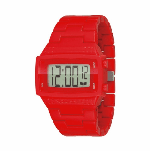 Vestal Dolby Plastic Watch<br>Red/Positive