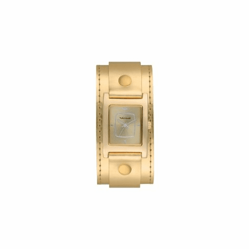 Vestal Electra Watch<BR>Gold/Patent