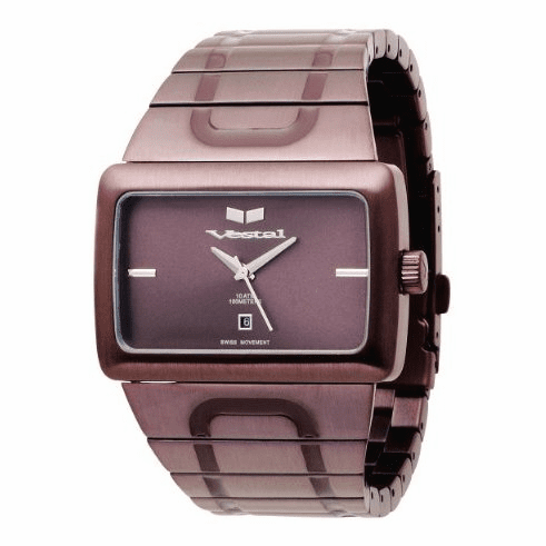 Vestal Elite Watch<br>Brown