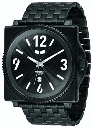Vestal Quadra Metal Watch<br>Black