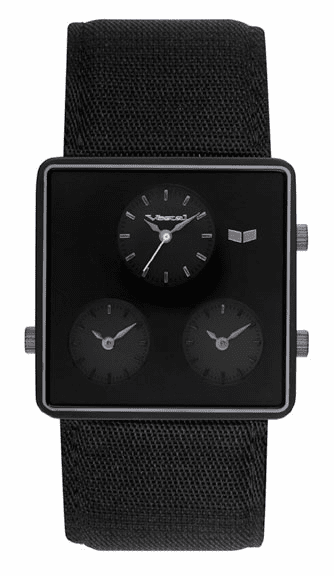 Vestal Savant Watch<br>Black/Gunmetal/Grey