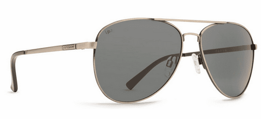 Von Zipper Farva Sunglasses<br>Antique Charcoal Satin/Grey Polarized