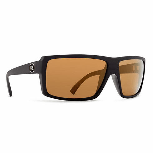 Von Zipper Snark Sunglasses<br>Black/Gold Chrome