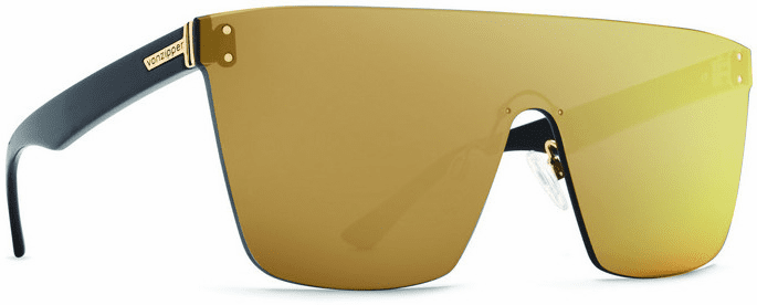 VonZipper ALT Donmega Sunglasses<br>Black Gloss/Flash Gold