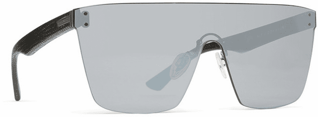 VonZipper ALT Donmega Sunglasses<br>Black Leather/Silver Chrome
