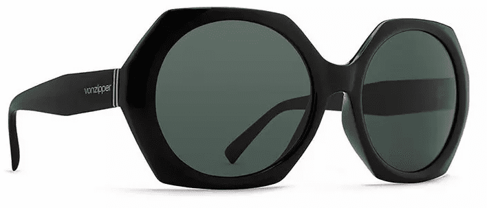 VonZipper Beulah Sunglasses<br>Black Gloss/Vintage Grey