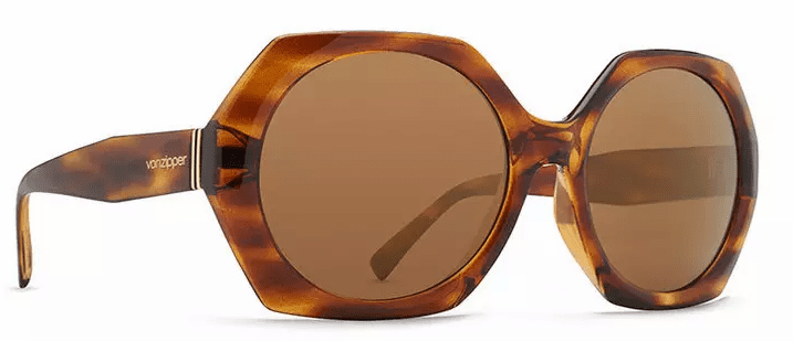 VonZipper Beulah Sunglasses<br>Tortoise Gloss/Gold Glo