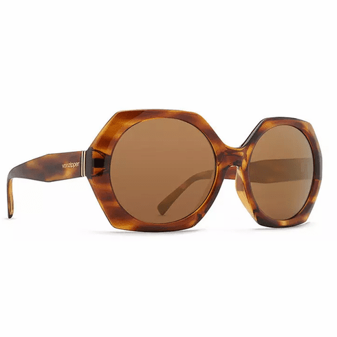(SALE!!!) VonZipper Beulah Sunglasses<br>Tortoise Gloss/Gold Glo